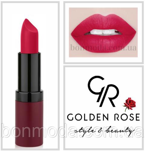 Матовая Помада Golden Rose Velvet Matte № 17