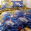 Двуспальный набор постельного белья Ранфорс 118