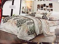 Двуспальный набор постельного белья Ранфорс 119