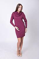 Короткое вязаное платье 5 цветов (42-44, 46-48 размеры)