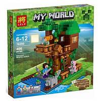 Конструктор Lele серия My World 79350 Домик у реки (аналог Lego Майнкрафт, Minecraft)