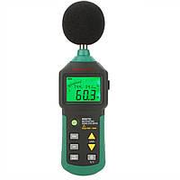 Шумомер Mastech MS6702 (30-130 dB) с измерением температуры и влажности (-20°C + 60°C; 0-100%), фото 1