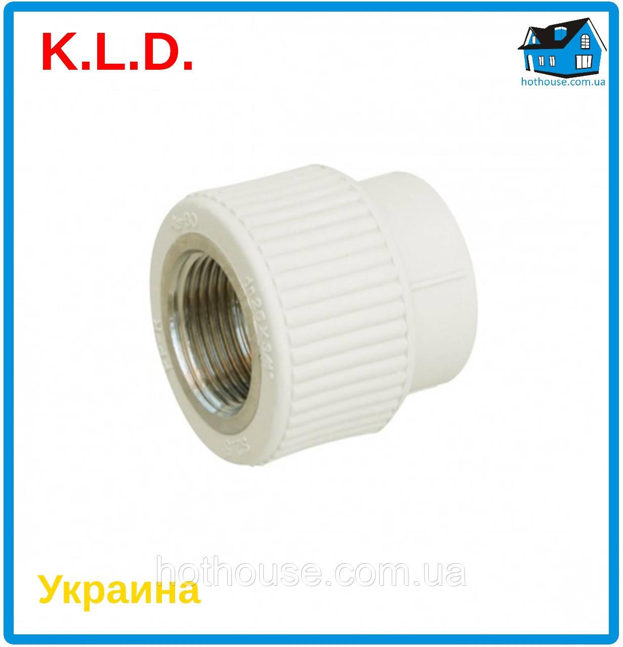 """Муфта с внутренней резьбой (МРВ) K.L.D. Ø40 x 1 1/4"""""""