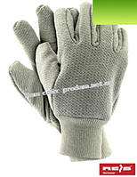 Защитные рабочие перчатки махровые с резинкой
