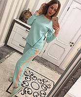 Стильный спорт.костюм женский Арт.123 (цвета)