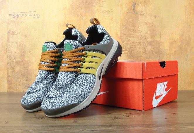 Кроссовки Nike Air Presto BR QS Safari. Живое фото. Топ качество! (Реплика ААА+)