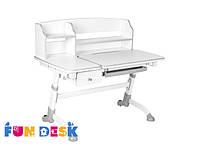 Детский стол-трансформер FunDesk Amare II with drawer Grey
