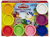 Пластилин (8 баночек)  448 гр. Play-Doh (A7923), фото 1