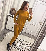 Ангоровый костюм с открытыми плечами (цвета)