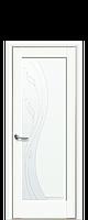 Дверь Эскада ПВХ Deluxe белый матовый