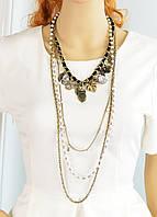 Ожерелье с украшениями