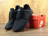 Мужские кроссовки Air Presto BR QS all black. Живое фото  (Реплика ААА+), фото 6
