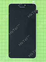 Дисплей Lumia 640 XL Dual SIM с сенсором, панелью Копия АА Черный