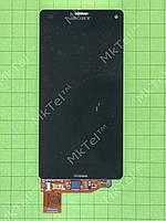 Дисплей Sony Xperia Z3 Compact D5803 с сенсором Оригинал элем. Черный