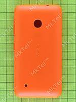 Задняя крышка Nokia Lumia 530 Dual SIM с кнопками Оригинал Китай Оранжевый