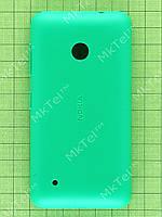 Задняя крышка Nokia Lumia 530 Dual SIM с кнопками Оригинал Китай Зеленый