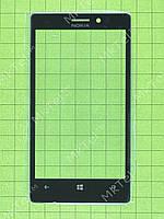 Стекло сенсора Nokia Lumia 925 Копия АА Черный