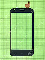 Сенсор Prestigio MultiPhone 5501 DUO Копия АА Черный