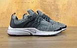 Кроссовки Nike Air Presto BR QS black/grey. Живое фото. Топ качество! (Реплика ААА+), фото 3