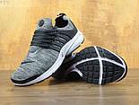 Кроссовки Nike Air Presto BR QS black/grey. Живое фото. Топ качество! (Реплика ААА+), фото 4