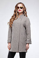 Женское демисезонное шерстяное пальто Марьям 42-54рр