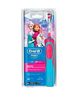 Oral-b stages power Frozen детская электрическая зубная щетка