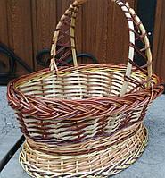 Подарункова Корзина з лози із забарвленням, фото 1