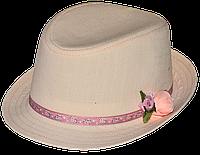 Шляпа  детская Стиляга  стильная,  красивая на мальчика, девочку  для праздника или утренника  в детский сад