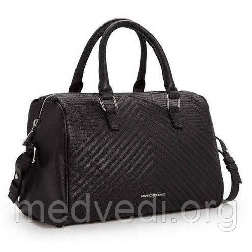 Сумка Mango Touch черная (женская сумочка)