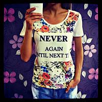 Женские футболки с принтом Турция - 4