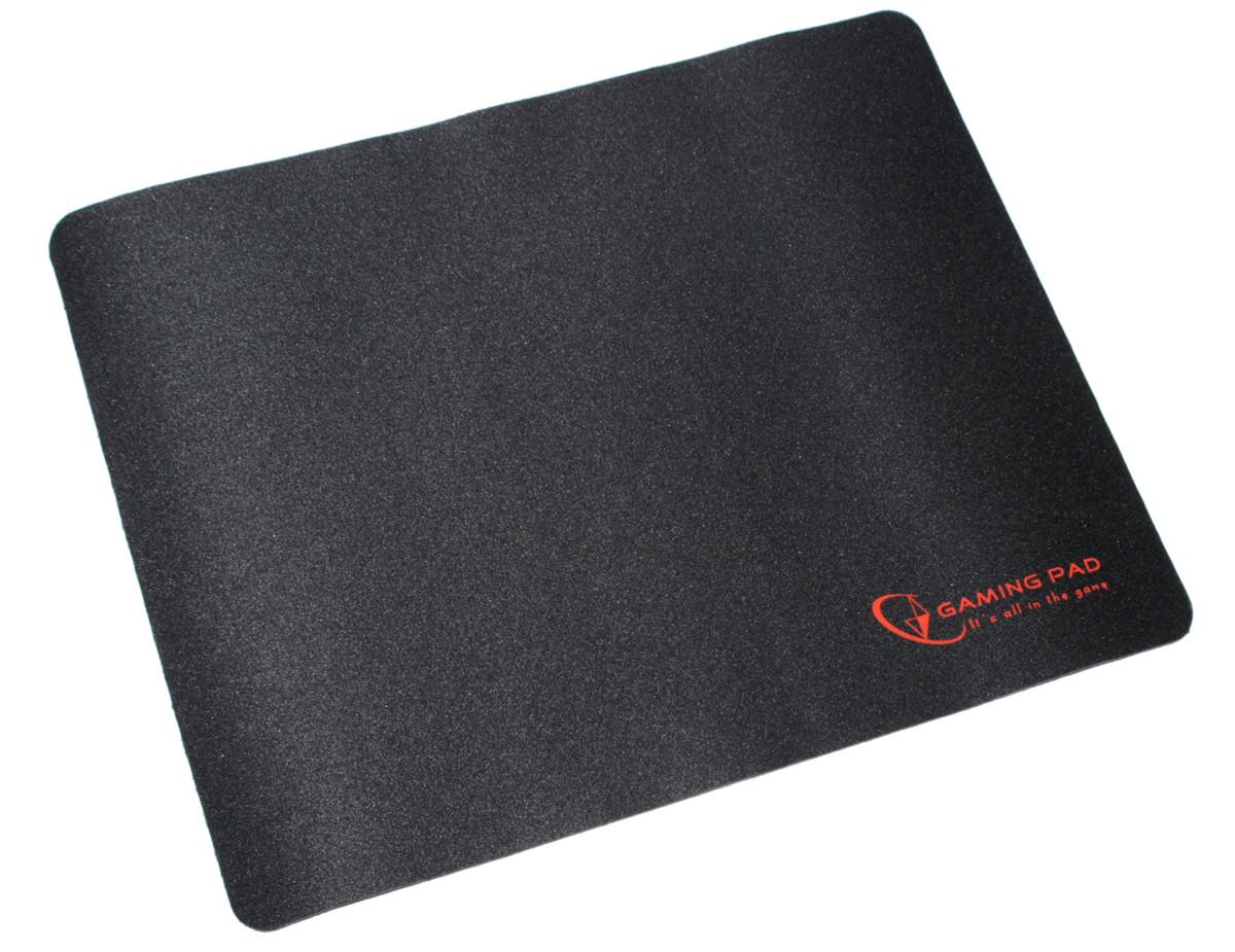 Коврик Gembird MP-GAME-S игровой, ткань, черный цвет