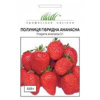 Семена Клубника Гибридная Ананасная 0,03 грамма Hem Zaden Профессиональные семена