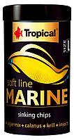 Tropical Soft Line Marine Size  L 250ml/130g-корм для всеядных морских рыб (67634)