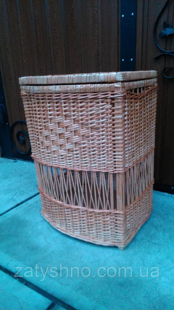 Плетеный ящик для хранения вещей