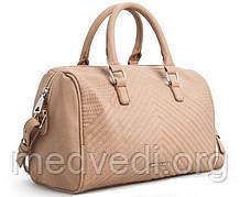 Сумка Mango Touch бежевая (женская сумочка)