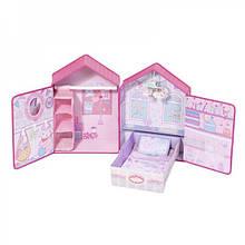 Домик для куклы Baby Annabell Розовые сны Zapf Creation 794425