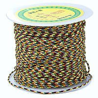 Шнур Нейлоновый Плетеный, Цвет: Разноцветный, Размер: Диаметр 1.5мм, около 100м/катушка, (УТ100005595)
