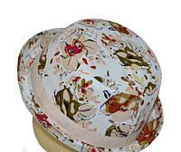 Шляпа  детская Индия Персик стильная, красивая на мальчика, девочку  для праздника или утренника в детский сад