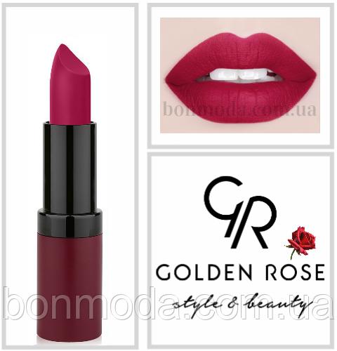 Матовая Помада Golden Rose Velvet Matte № 19