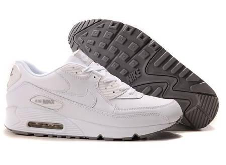 Мужские кроссовки Nike Air Max 90 белые топ реплика, фото 2