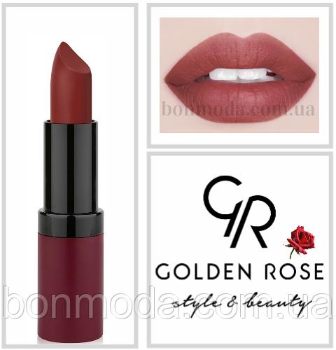 Матовая Помада Golden Rose Velvet Matte № 22