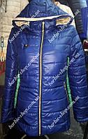 Удлиненная женская куртка на весну 10311