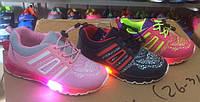 Модные светящиеся кроссовки Польша