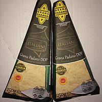 Сыр твердый Grana Padano (Грана Падано) 20 мес кусковой, 250г