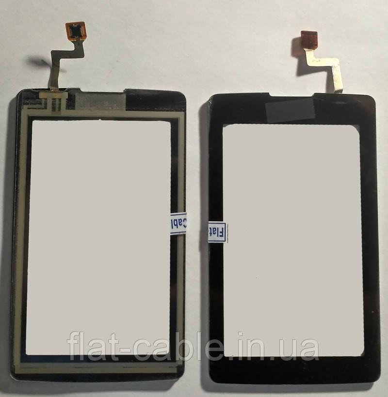 Сенсор LG KP500 чёрный