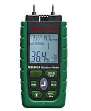 Вологомір деревини і будівельних матеріалів Mastech MS6900A (0-60%) (-10.0 - 50.0 °C) (10...90%) з 7 режимами