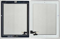 Тачскрин (сенсор) iPad 2 белый (White) assembly with home button