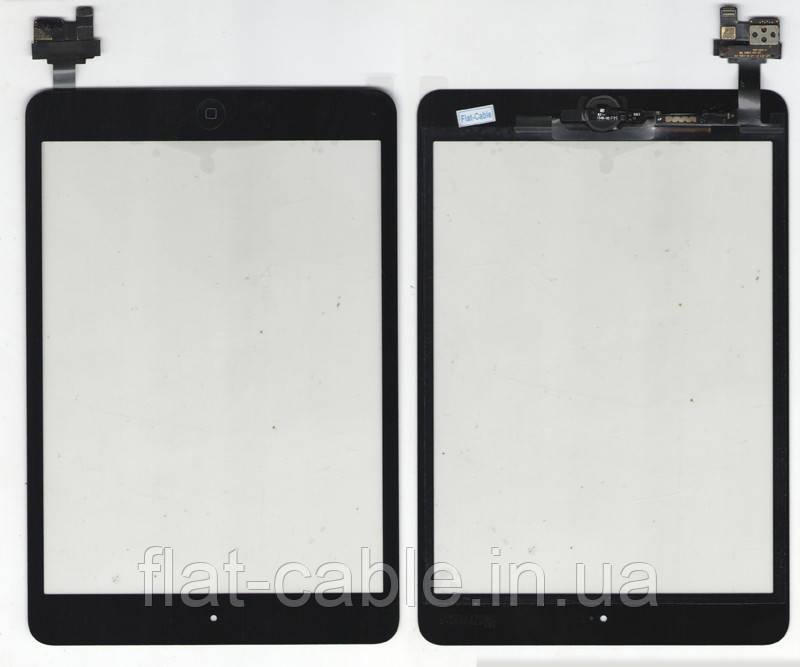 Тачскрин (сенсор) iPad Mini 2 (black) assembly with home buttoni IC with ic