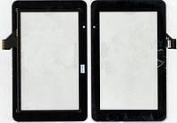 Тачскрин (сенсор) №178 Prestigio MultiPad 7.0 HD PMP3970B GKG0362A 191x118mm 30pin Black