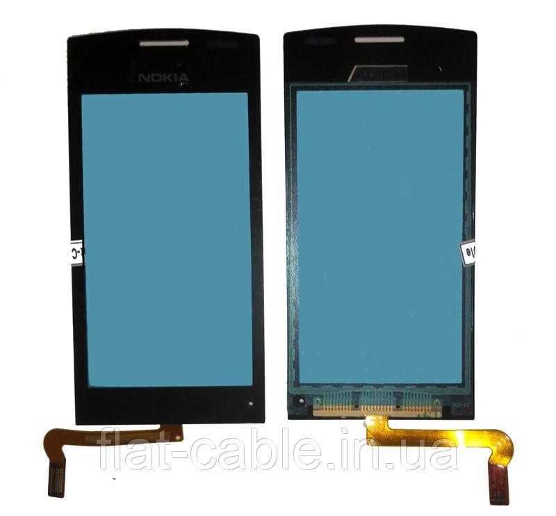 Сенсор Nokia 500 чёрный